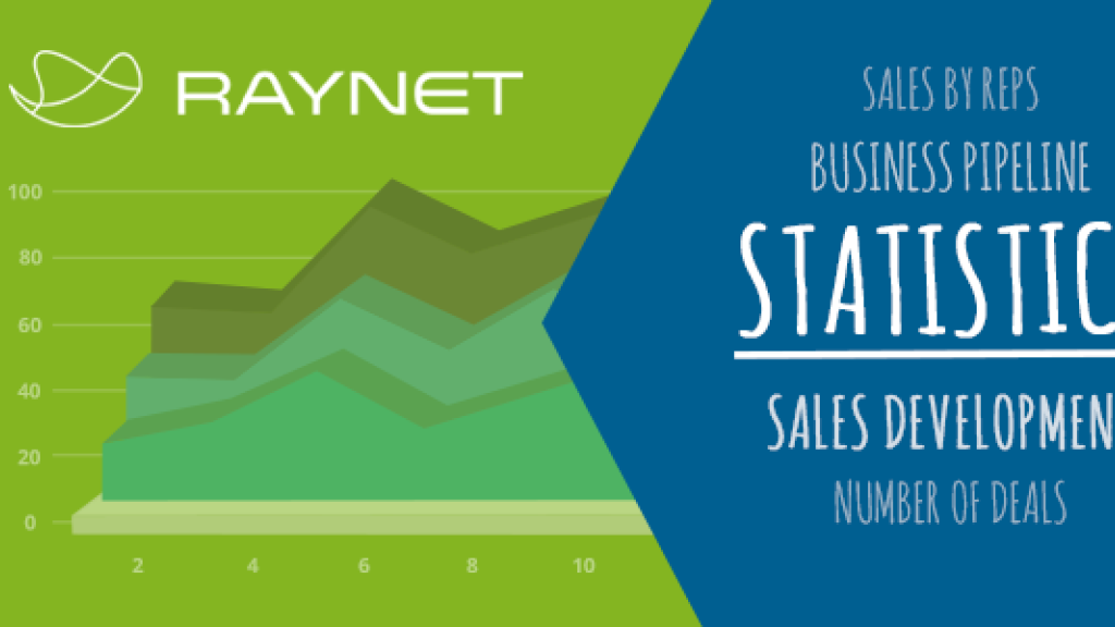 How to boost your sales with RAYNET? 3 Key Features For Efficient Sales – Part 3: Statistics