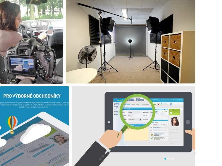 Ukázky z příprav nové digitální komunikace