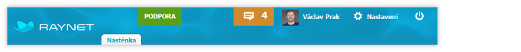 Nové podoby se dočkal toolbar