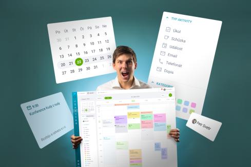Nový kalendár v RAYNET CRM